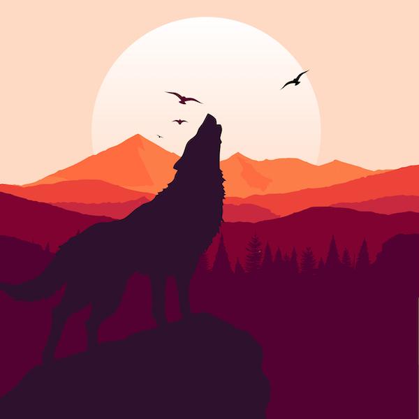 El lobo y la cabra